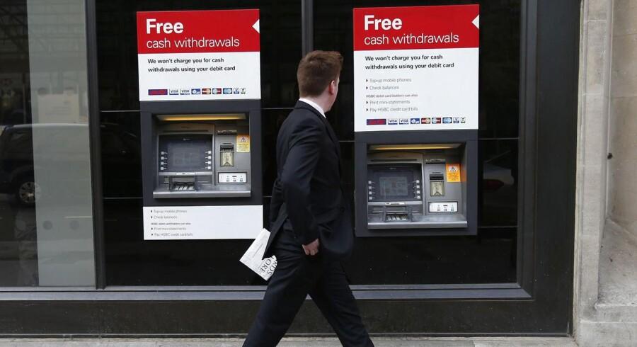Den spanske udfordrer på det danske lånemarked Santander har tidligere med stor fanfare gjort sit indtog i indlånskrigen med en rente på konti uden binding på 1,1 pct, der ifølge Mybanker er den bedste indlånsrente i øjeblikket.. Men banken agter ikke at stoppe der. Arkivfoto.