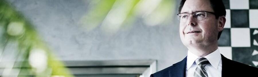 Toms administrerende direktør Jesper Møller.