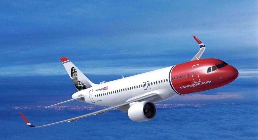 Norwegian Airbus.
