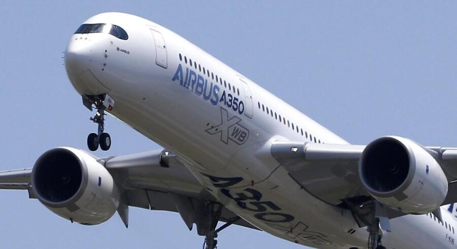 SAS har bestilt otte eksemplarer af Airbus' nyeste superfly A350'eren.