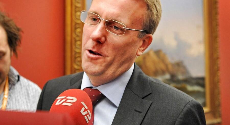 Morten Bødskov, ny justitsminister i SRSF-regeringen.