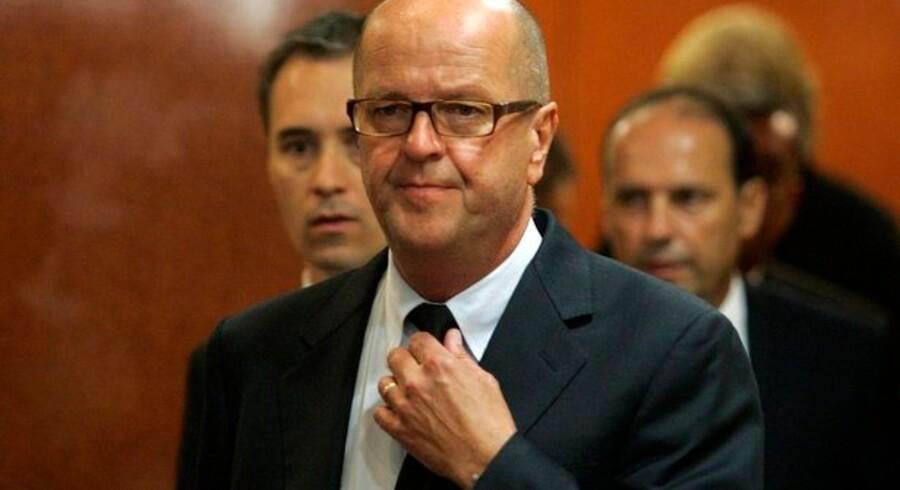SAS' koncernchef Mats Jansson præsenterede i dag halvårsregnskab. Arkivfoto.