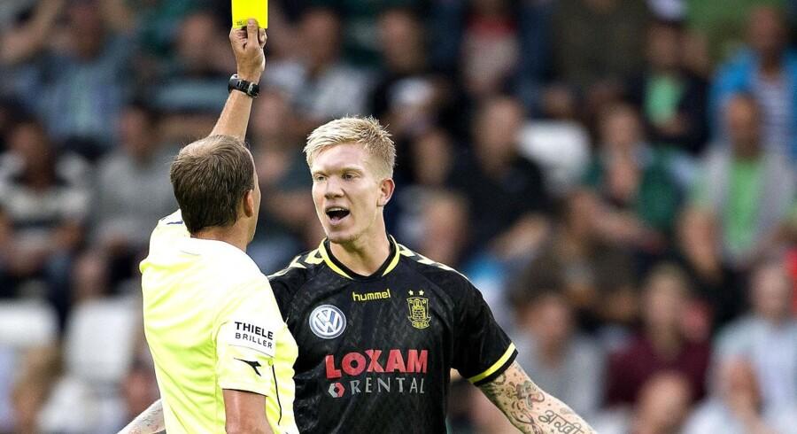 Brøndbys Simon Makienok Christoffersen har takket nej til et tilbud fra en anden klub, afslører klubben i sit halvårsregnskab.
