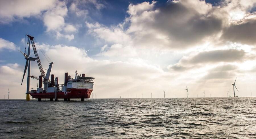 London Array er opført og delvist ejet af DONG Energy. Parken er den største havmøllepark i verden.
