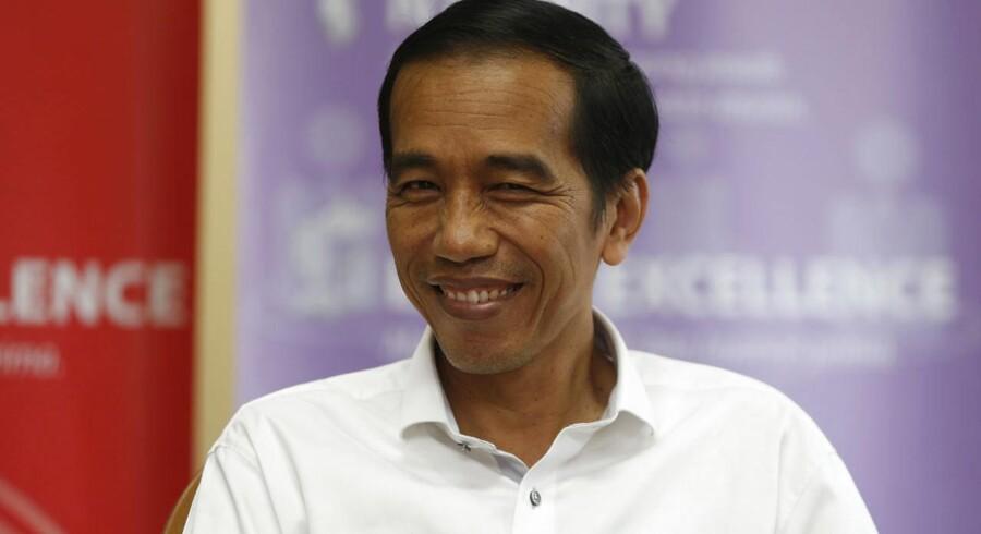 Indonesiens nye præsident, Joko Widodo.