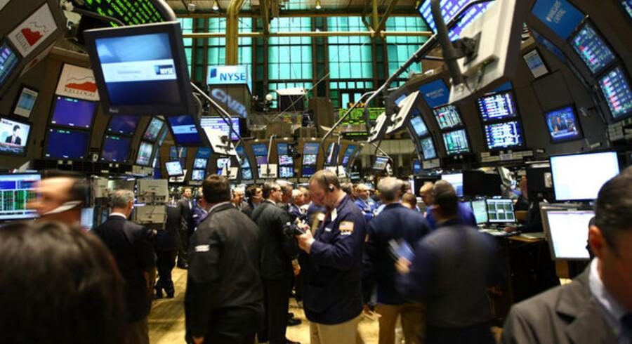 Første test på aktiemarkedet bliver, om S&P-indekset bryder igennem 50 dages glidende gennemsnit.