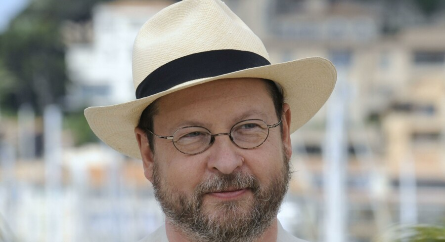 Den danske instruktør Lars Von Trier.
