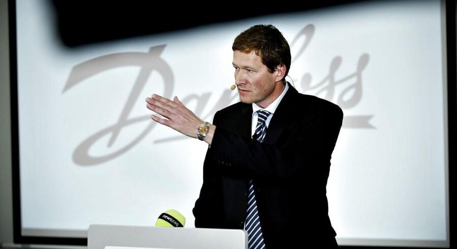 Danfoss skærer ned og fyrer 69 i Danmark. Her ses koncernchef Niels B. Christiansen.