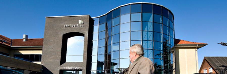 EBH Bank, der sidste efterår blev sendt til afvikling i selskabet Finansiel Stabilitet, har hovedsæde i den lille nordvestjyske by Fjerritslev.