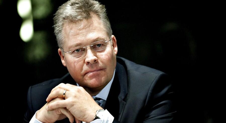 CEO Gjensidige Helge Leiro Baastad.