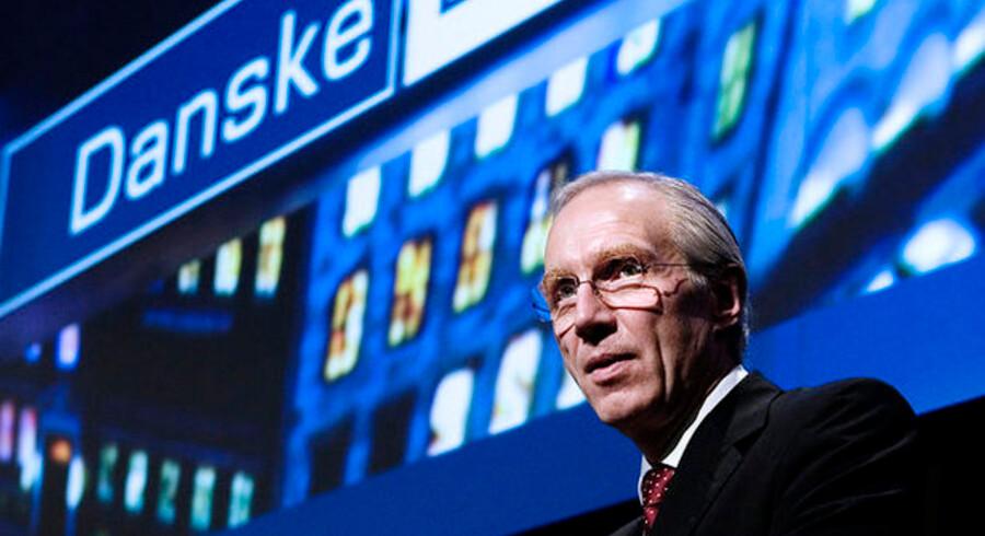Danske Banks aktie er blandt dem, der angiveligt nyder godt af forbuddet mod shortselling.