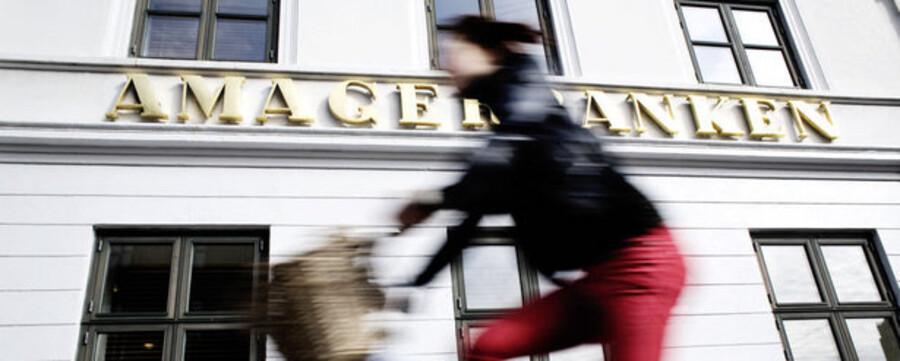 Amagerbankens aktier handles til knap en tredjedel af den indre værdi.
