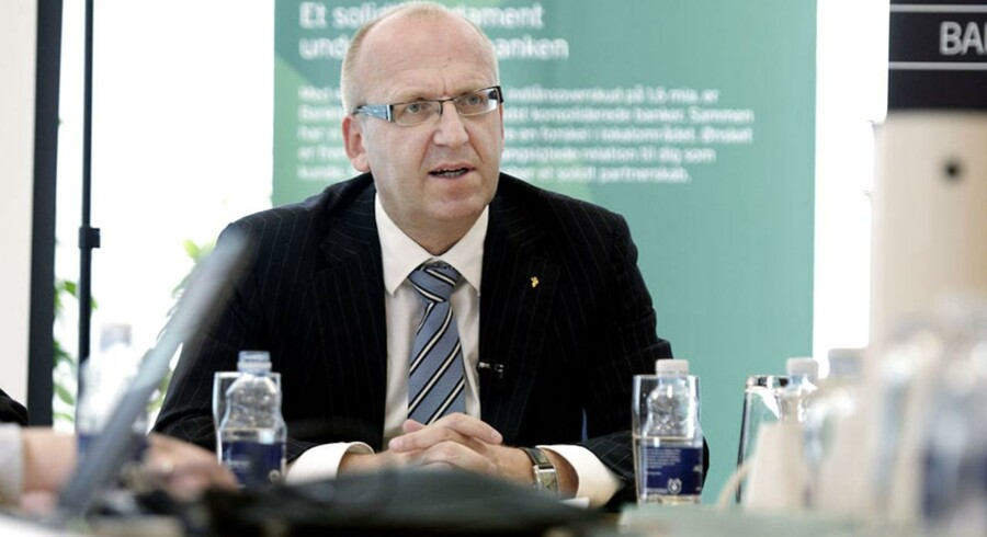 Janus Petersen, koncernchef i Banknordik.