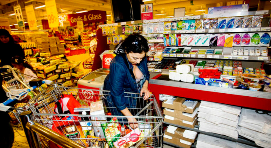 Danskerne valfarter til Malmö for bl.a. at købe billigt ind, men risikoen for at få afluret sit kreditkort er større her end i resten af Sverige. Foto: Sisse Stroyer, Scanpix