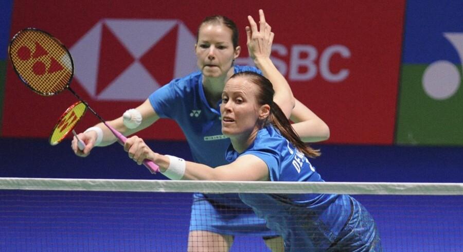 Kamilla Rytter Juhl og Christinna Pedersen hentede den første triumf i karrieren i damedouble, da parret søndag vandt All England.