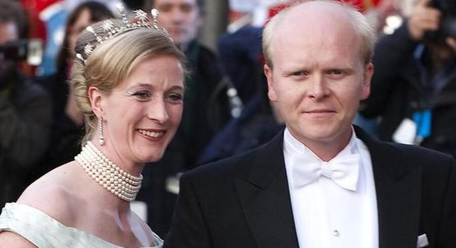 Nathalie og Alexander er gift inden brylluppet lørdag.