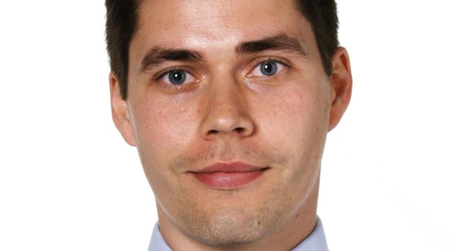 Christian Hilligsøe Heinig, cheføkonom for Realkredit Danmark.