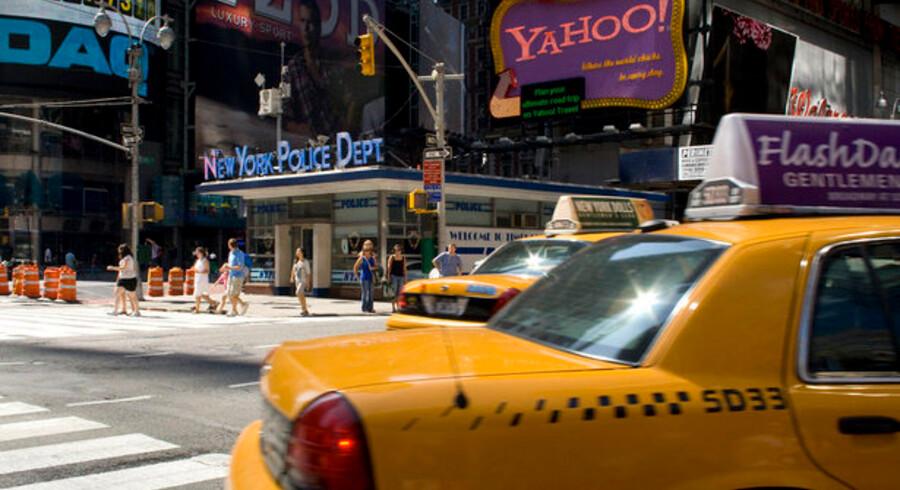 Rejsen til New York blev forstyrret af et spærret kreditkort.