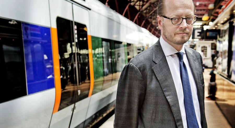 DSB og adm. direktør Jesper Lok kan se frem til statsgaranterede lån.