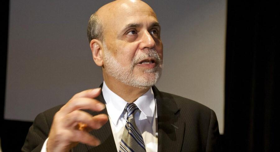 Ben Bernanke måtte slås for overskrifterne på en dag, hvor der kom ikke mindre end 21 regnskaber fra USA.