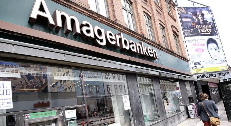 Amagerbanken på Nørrebrogade. Arkivfoto
