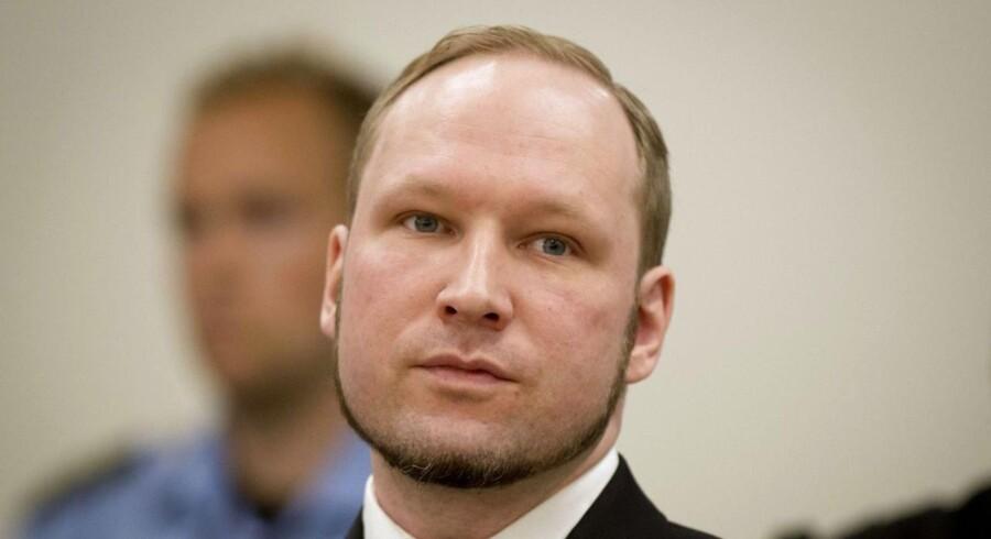Anders Breivik afsoner en forvaringsdom i Ila-fængslet ved Olso for massedrab i 2011.