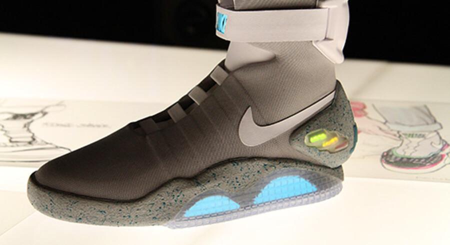 Nike Lancerede i sidste uge skoene fra Tilbage til fremtiden 2.