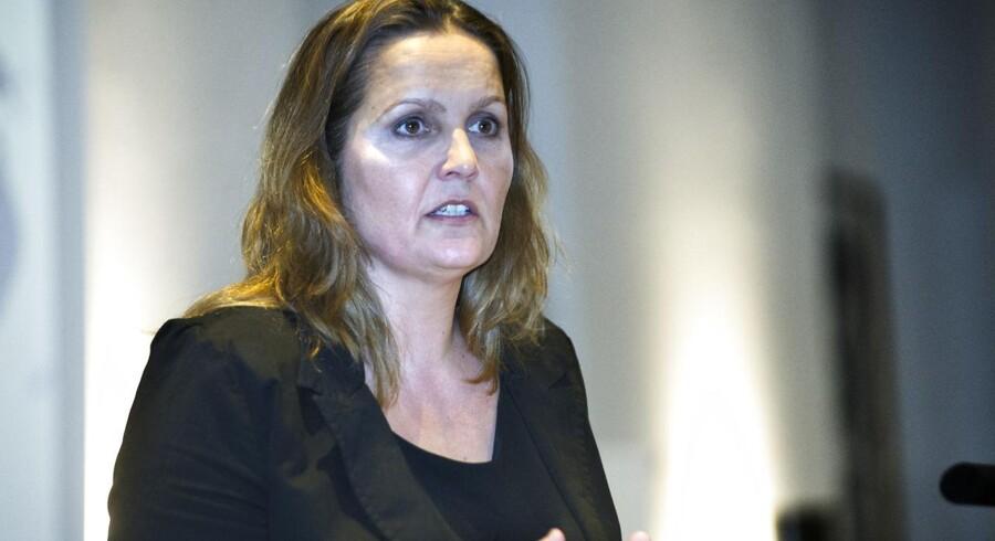 Handels- og investeringsminister Pia Olsen Dyhr (SF).