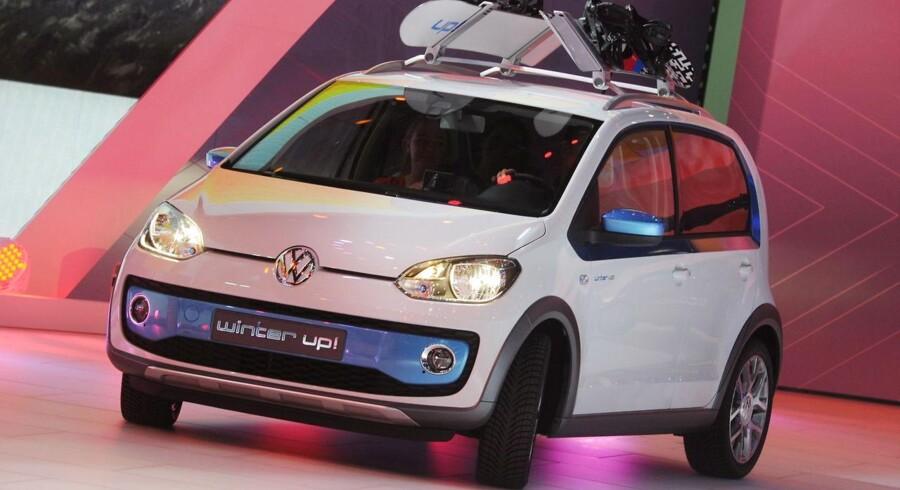VW præsenterede en vinterversion af Up på et motorshow i foråret.