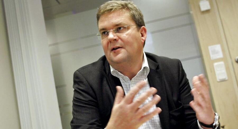 Bestyrelsesformanden for Vestas Bert Nordberg har entydigt gået efter at få Anders Runevad som ny koncernchef. »Hvis vi ikke havde den rigtige profil, ville vi ikke have lavet udskiftningen,« siger Bert Nordberg. Foto: Erich Stering