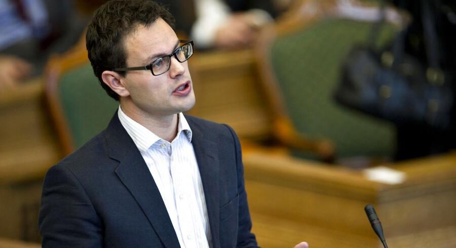 Jonas Dahl, finanspolitisk ordfører for SF.