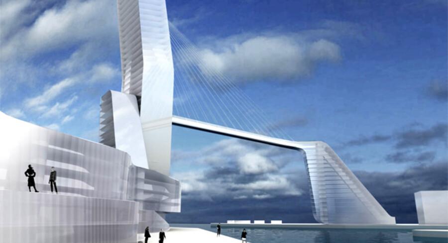Der bliver fri adgang til havnefronten og boliger ved vandet på den nye Marmormole. Det foreløbige projekt er tegnet af 3XN, og i 2009 udarbejdes de endelige planer for kvarteret. Offentligheden vil blive inddraget i udviklingen af område, lover initiativtagerne.