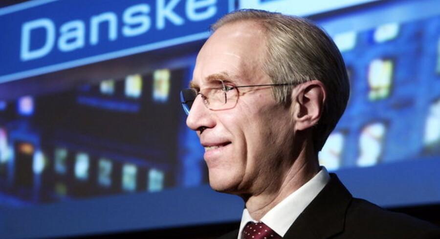 Danske Bank-aktien er steget ca. 20 procent siden nytår.