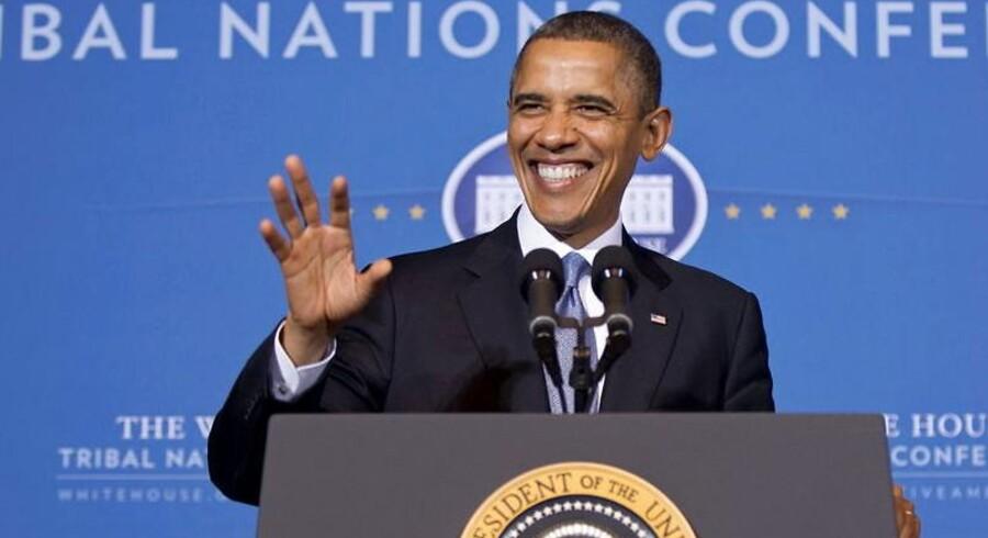 Præsident Barack Obama har en joker i ærmet, når det kommer til det truende gældsloft.