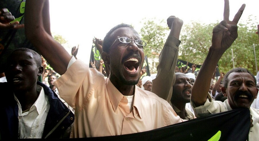 Islamister varmede op med demonstrationer i Khartoum henover weekenden.