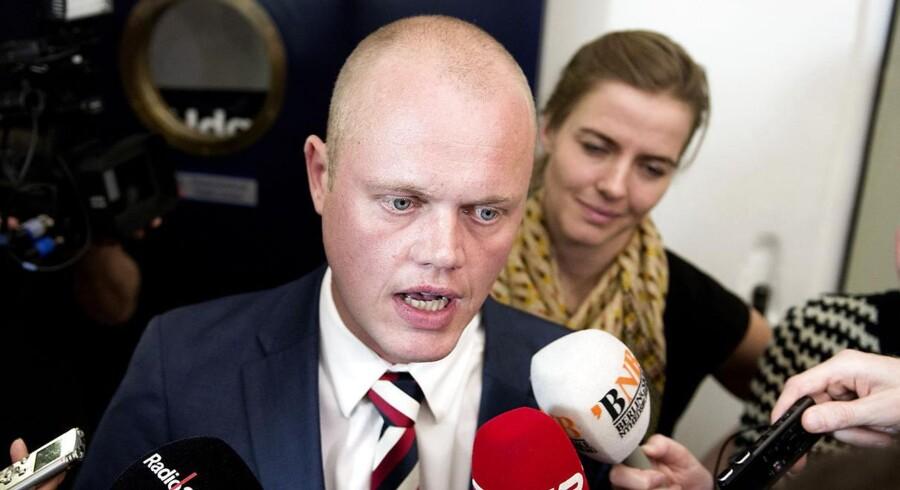 ARKIVFOTO 2012. Peter Christensen fra forhandlingerne om regeringens vækstplan i 2012. (Foto: Keld Navntoft/Scanpix 2012)