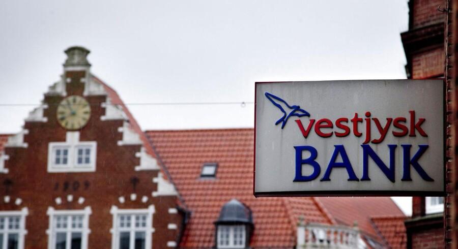 Det var efter besøg af Finanstilsynet, at Vestjysk Bank lavede en ny stor nedskrivning.