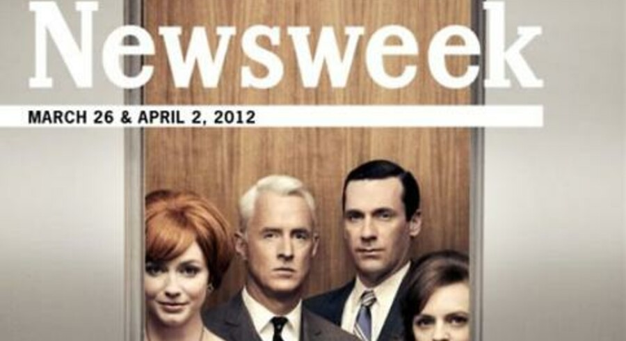 Det amerikanske magasin Newsweek udkommer i en redesignet udgave, hvor både magasin og annoncer ligner noget fra tresserne.