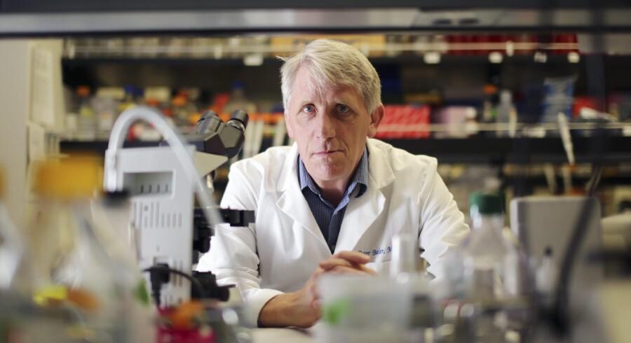 Professor Peter Butler og andre kritikere mødtes torsdag aften med Novo Nordisk til et videnskabeligt møde i Maryland i USA. Foto: J. Emilio Flores/The New York Times
