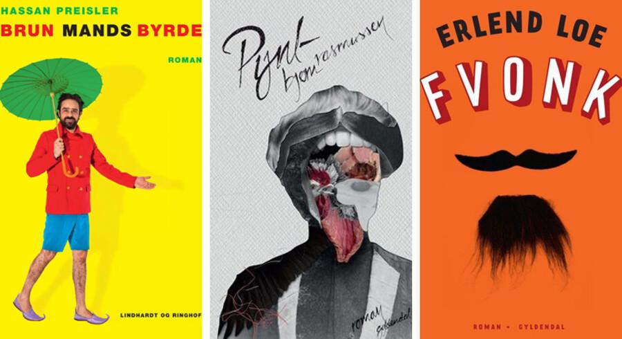 Berlingskes anmelder synes, at forfatterne til »Brun mands byrde«, »Pynt« og »FVONK« er værd at blive klogere på.