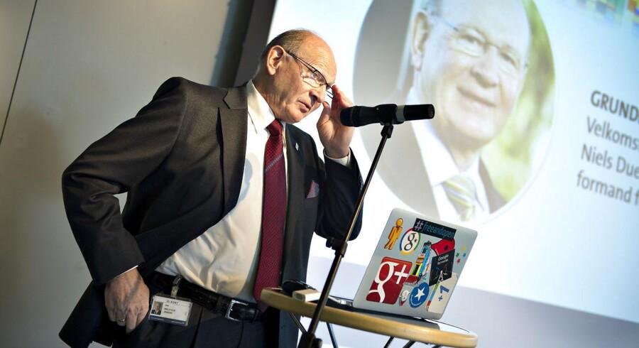 »Christian Hartvig har de kompetencer, der skal til, for at fonden kan nå de ønskede mål og forny sig,« siger fondens bestyrelsesformand Niels Due Jensen (billedet) i en pressemeddelelse.