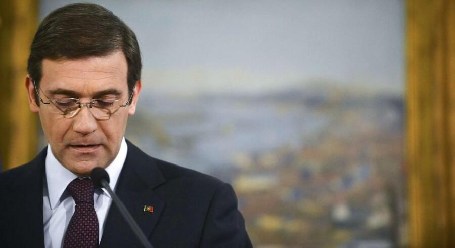 Portugals premierminister Pedro Passos Coelho.