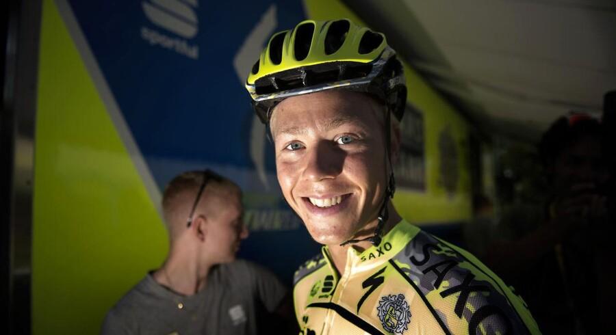 Michael Valgren debuterer i Tour de France.