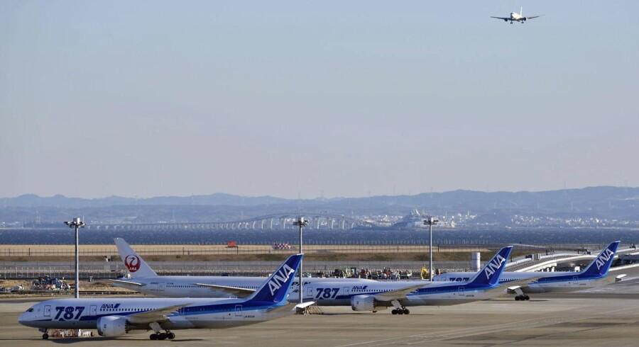 Boeings drømmefly Dreamliner 787 er blevet tvunget til jorden efter problemer med batterierne.