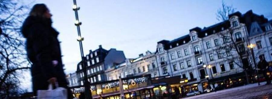 Ifølge tal fra Svensk Handel skete der i 2008 en markant udvikling i danskernes forbrug i Skåne. I december alene stod danskerne for over 20 procent af handlen i Malmø og Helsingborg, mod 12,8 procent af det samlede salg i 2008.