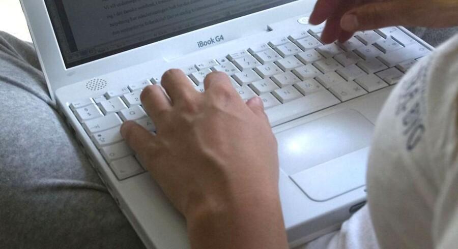 Ny undersøgelse viser, at der er stor forskel på mænd og kvinder online-adfærd (Foto: STeffen Ortmann/Scanpix 2011)