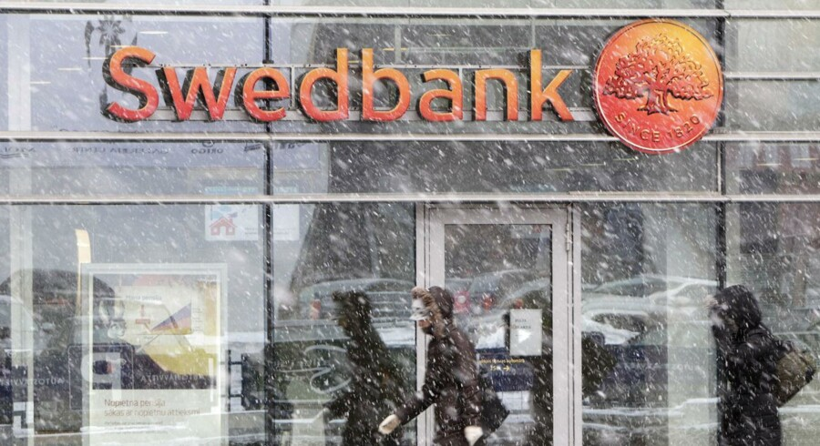 Den svenske storbank Swedbank præsenterer tirsdag morgen et solidt regnskab.