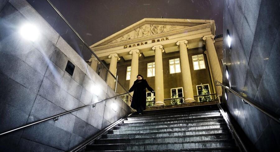 Finanskrisen har kostet Danske Bank 92,2 mia. kr., viser nye beregninger.