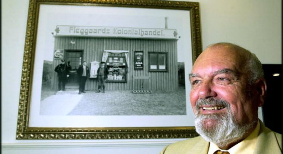 Den nu 71-årige Hans Frede Fleggaard (herover) blev landskendt i firserne, da han førte an i det såkaldte momsoprør, hvor han solgte hvidevarer og elektronik i Danmark til afhentning i Tyskland med betydelig momsrabat. Momsen blev ikke ændret, men Fleggaard blev  mangemillionær. <br>Foto: Hans Christian Gabelgaard