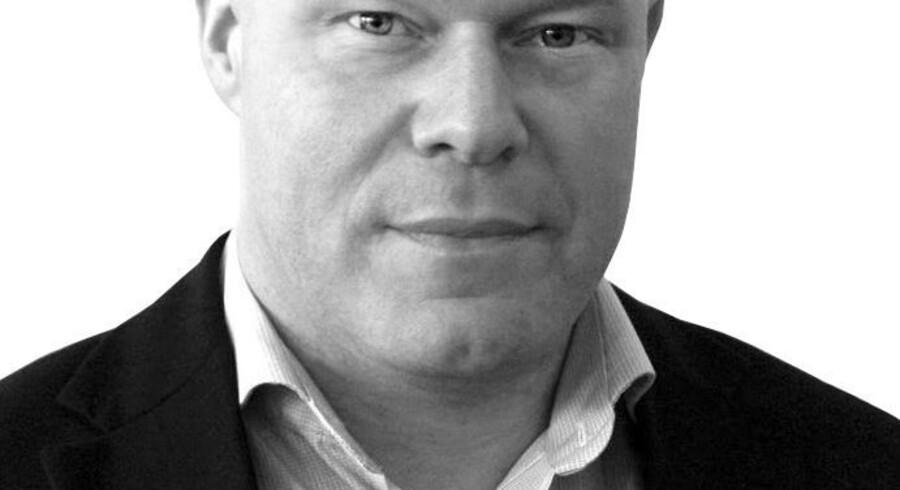Rasmus Thomsen, cand.merc. og forfatter.